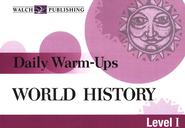 Daily Warm Ups World History, Level 1   -