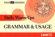 Grammar & Usage, Level 2: Daily Warm-Ups   -