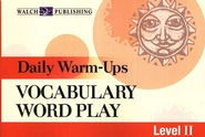 Vocabulary Word Play, Level 2   -