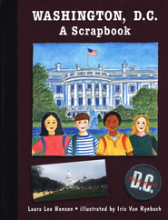 Washington D.C.: A Scrapbook   -     By: Laura Lee Benson