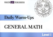 Daily Warm-Ups, General Math, Level 1    -