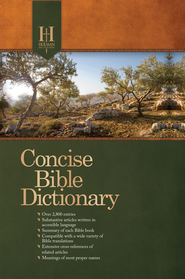 Holman Concise Bible Dictionary - eBook  -
