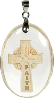Faith Cross Pendant  -