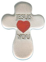 Jesus Loves You Pocket Token  -