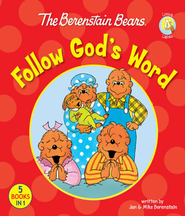 The Berenstain Bears Follow God's Word - eBook  -     By: Jan Berenstain, Mike Berenstain