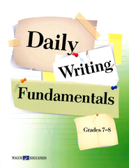 Daily Writing FUNdamentals, Grades 7-8