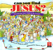 Can You Find Jesus?    Gospel  -     By: Philip D. Gallery