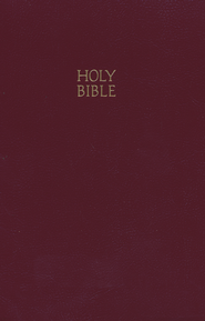 KJV Gift & Award Bible, Imitation leather, Burgundy   -     By: Bible