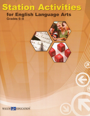 Station Activities for English Language Arts, Grades 6-8   -