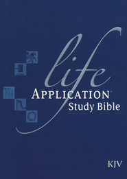 KJV Life Application Study Bible, Hardcover   -
