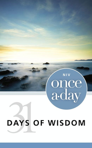 NIV Once-A-Day 31 Days of Wisdom - eBook  -     By: Zondervan Bibles(ED.)