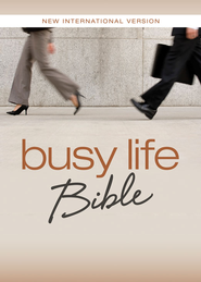 NIV Busy Life Bible: 60-Second Thought Starters on Topics That Matter to You - eBook  -     By: Zondervan