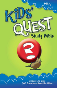 NIrV Kids' Quest Study Bible: Real Questions, Real Answers / New edition - eBook  -