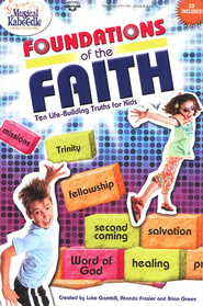 Foundations of Faith Activity Book and CD   -
