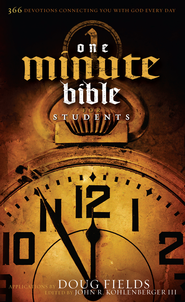 HCSB One Minute Bible for Students - eBook  -     By: Doug Fields