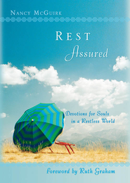 Rest Assured: Devotions for Souls in a Restless World - eBook  -     By: Nancy McGuirk