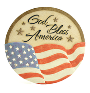 God Bless America Stepping Stone  -