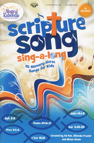 Scripture Song Sing-A-long--Activity Book and CD   -