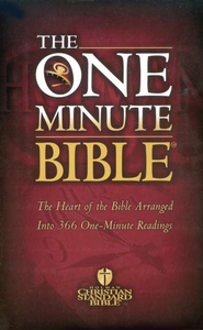 The HCSB One Minute Bible: The Heart of the Bible Arranged into 366 One-Minute Readings - eBook  -