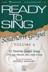 Ready to Sing Southern Gospel, Volume 6   -