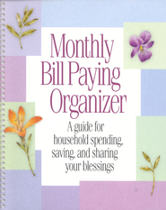 Monthly Bill Paying Organizer    -