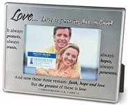Love Is More Than Words Photo Frame  -