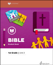 Lifepac Bible Grade 1 Unit 3: We Can Pray   -