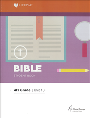 Lifepac Bible Grade 4 Unit 10: God's Way Is Perfect   -