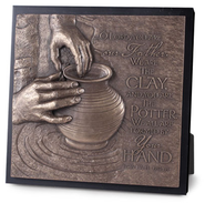 The Potter Sculpture Plaque  -