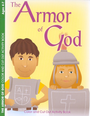 The Armor of God Coloring Book--Ages 4 to 7   -