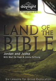 Land of the Bible: Jordan & Judea (Leader's Guide & DVD)  -