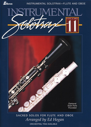 Instrumental Solo Trax, Volume 11 (Flute and Oboe)   -