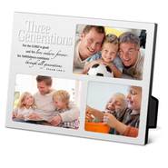 Three Generations Desktop Collage Frame   -