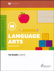 Lifepac Language Arts Grade 1 Unit 6: R-controlled vowels &  plurals  -