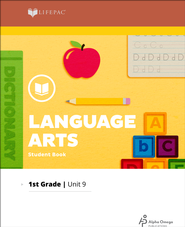 Lifepac Language Arts Grade 1 Unit 9: Diphthongs, Contractions & Poetry  -