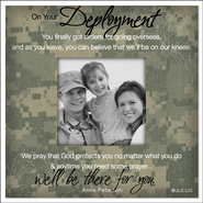 There For You, On Your Deployment Magnet  -     By: Anne Peterson