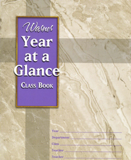 Year at a Glance Class Book  -