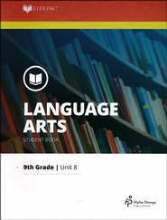 Lifepac Language Grade 9 Unit 8: Library & Drama   -