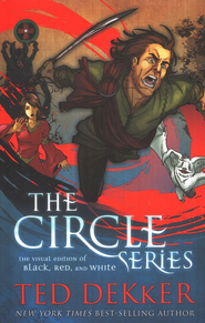 Circle Series Visual Edition: Black, Red, and White Graphic Novels - eBook  -     By: Ted Dekker