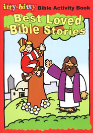 Itty-Bitty Activity Book, Best Loved Bible Stories  -