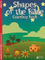 Shapes of the Bible Coloring Book  -