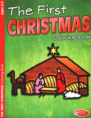 The First Christmas Coloring Book - Ages 2-5  -