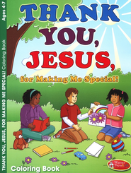 Thank You Jesus Coloring Book - Ages 4-7  -