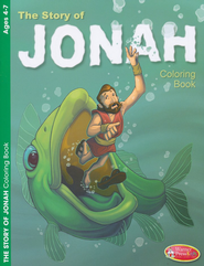 Jonah Coloring Book - Ages 4-7  -