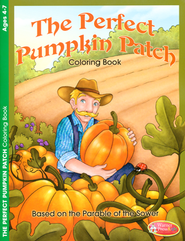 Perfect Pumpkin Patch Coloring Activity Book - Ages 4-7  -