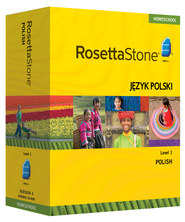 Rosetta Stone Polish Level 1 with Audio Companion Homeschool Edition, Version 3  -