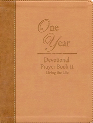 The One Year Devotional Prayer Book Vol 2  -     By: Johnny Hunt