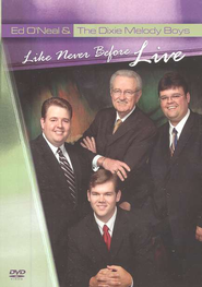 Like Never Before, Live DVD  -     By: Dixie Melody Boys