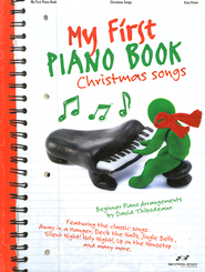My First Piano Book Christmas Songs   -
