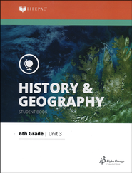 Lifepac History & Geography Grade 6 Unit 3: Greece and Rome   -